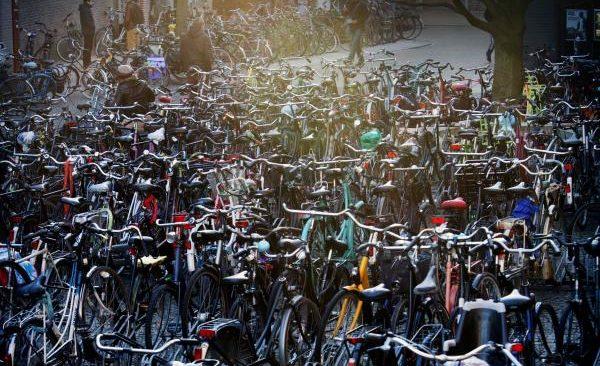 fietsenchaos Academieplein