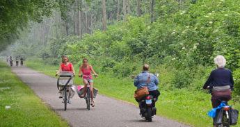 Fietsen is gezond - Foto: Gemeente Almere