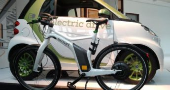 smart, auto en fiets