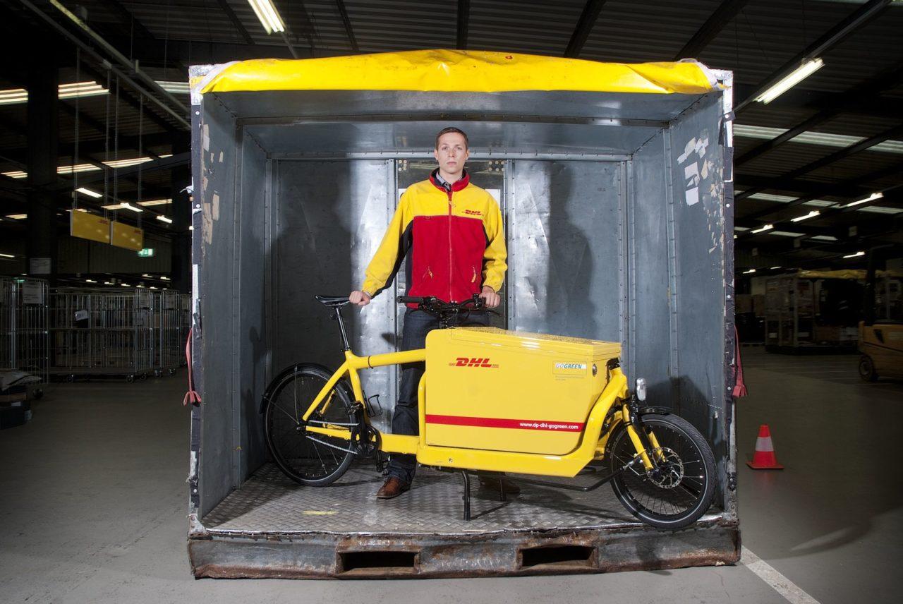DHL-fiets