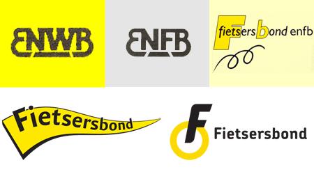 Logo's ENWB, ENFB, FBENFB en Fietsersbond
