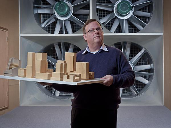 Albert Alders, onderzoeker windhinder
