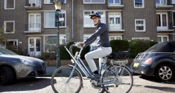 Meetfiets van de SWOV, waarom vallen fietsers?
