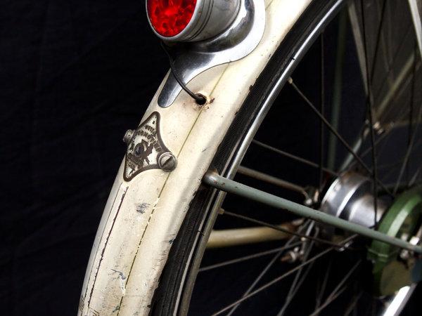 fietsonderdelen wit spatbord