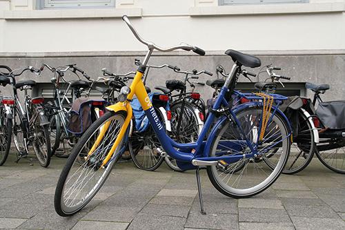 Verrassend lichte fiets die iedere dag te huren is