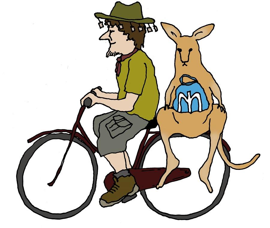 Kangoeroefietstas