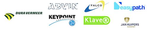 Sponsors: Dura Vermeer, Advin, Keypoint, Falco, Klaver, Easypath en Jan Kuipers Nunspeet