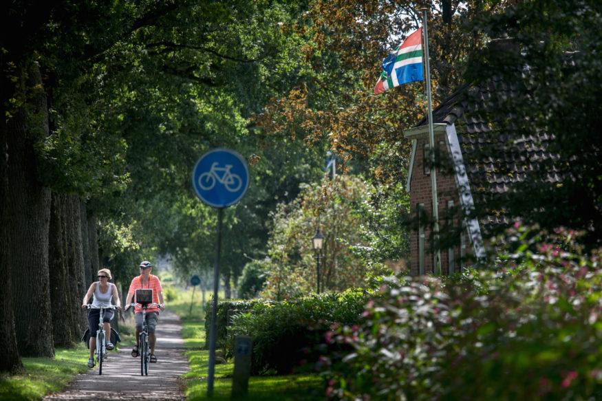 Fietsroute: Ontdek prehistorisch Groningen. Fietsers tussen Onnen en Laren.