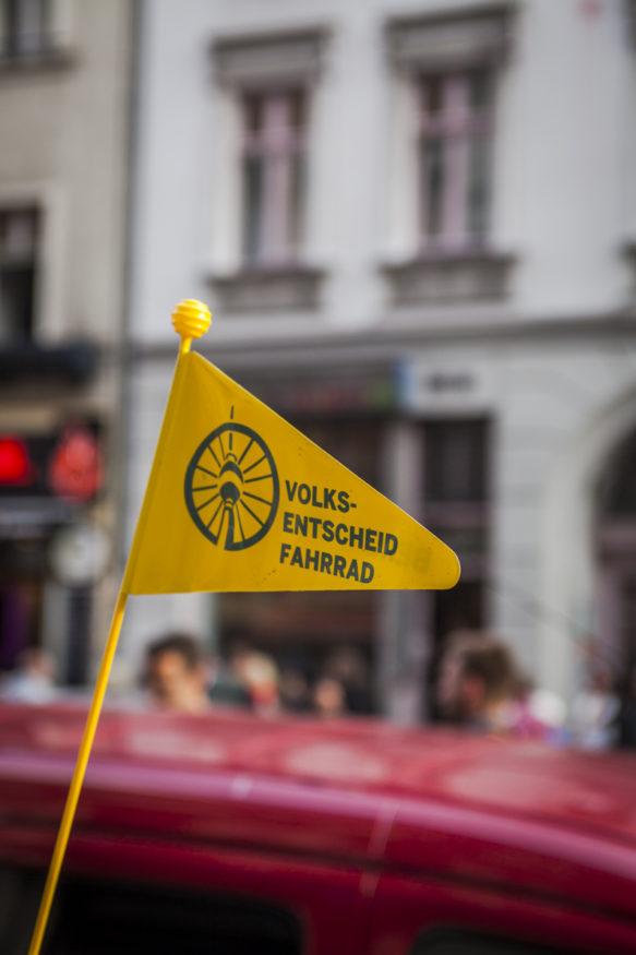 Volksentscheid Fahrrad in Berlin. Foto: Steffen Roth