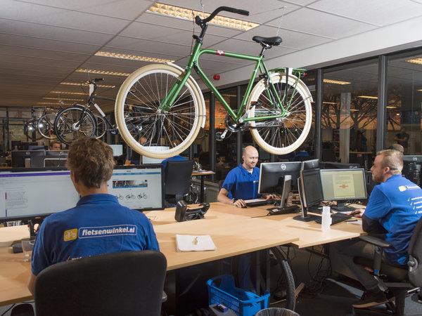 fietsenwinkel kantoor