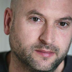 Journalist Dieter van den Bergh