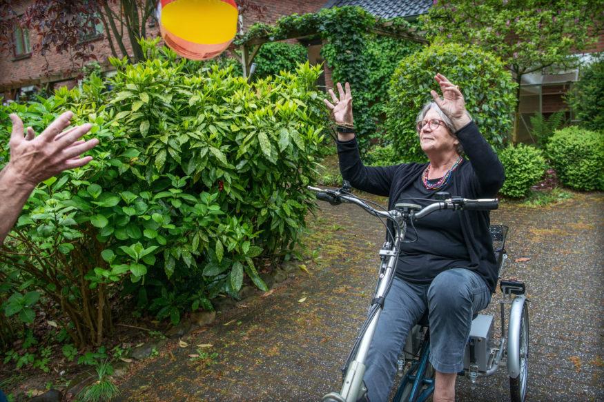 les driewielfiets, easy van raam, fietsschool
