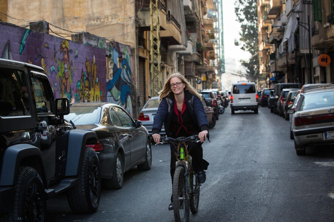 Jannie Schipper in Beiroet