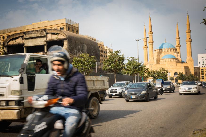 verkeer in Beiroet