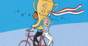fietsstad houten 2018, fietsersbond