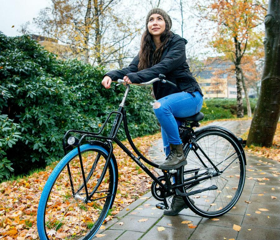 Lucia op Swapfiets in Nijmegen