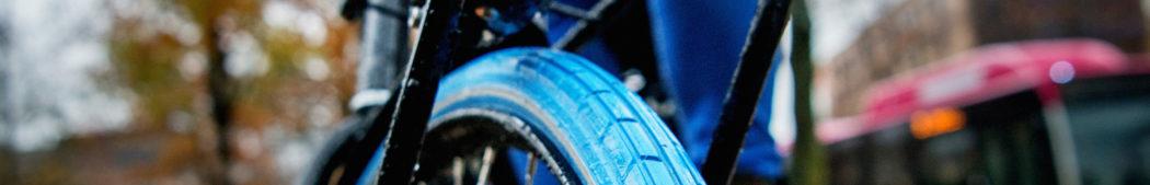 de blauwe band van de Swapfiets