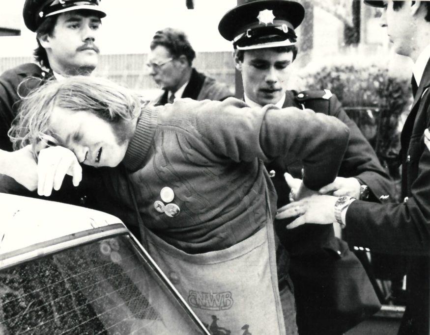In de beginjaren kwam de politie