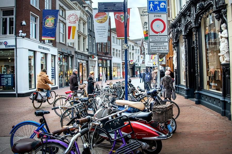 Kerkstraat in Den Bosch
