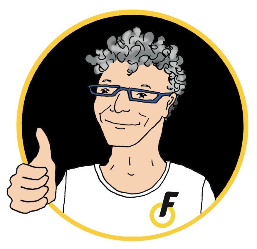 Illustratie van Wim Bot van de Fietsersbond