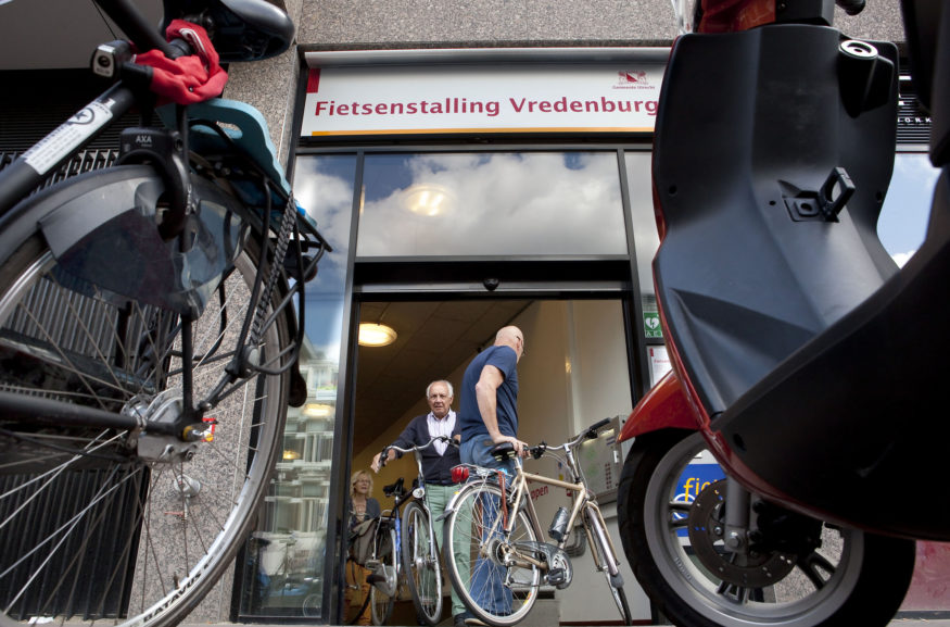 Fietsenstalling Utrecht Vredenburg