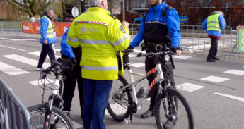 Politie op de Fiets
