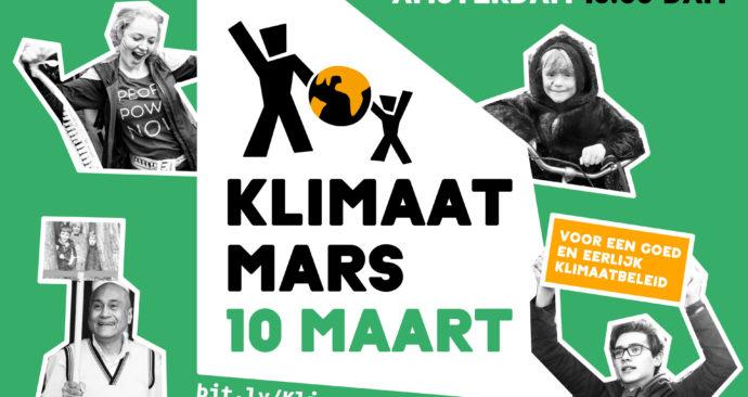 Klimaatmars logo