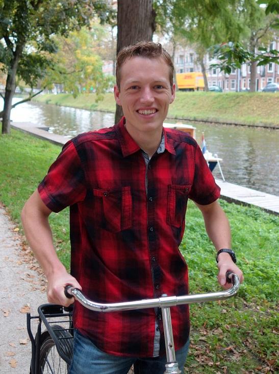Projectmedewerker Arjen Klinkenberg: