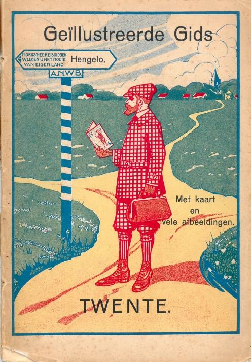 Omslag van de originele gids uit 1912