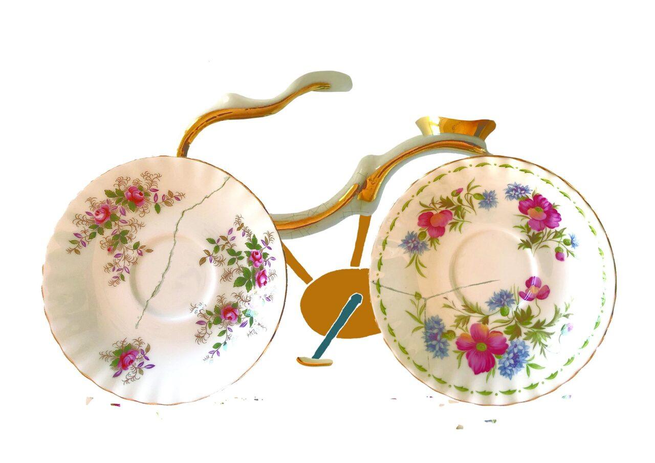 fiets kapot