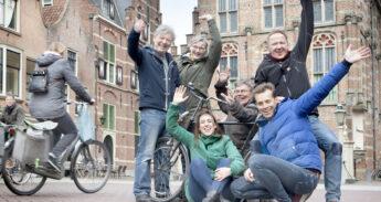 De zes ambitieuze mensen van Fietsersbond Culmenborg