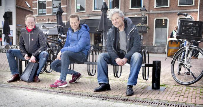 Jan, Willijan en Bart in Culemborg