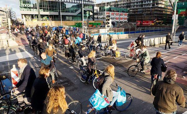 drukste fietspad van Nederland.