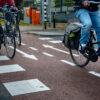 Overstekende fietsers