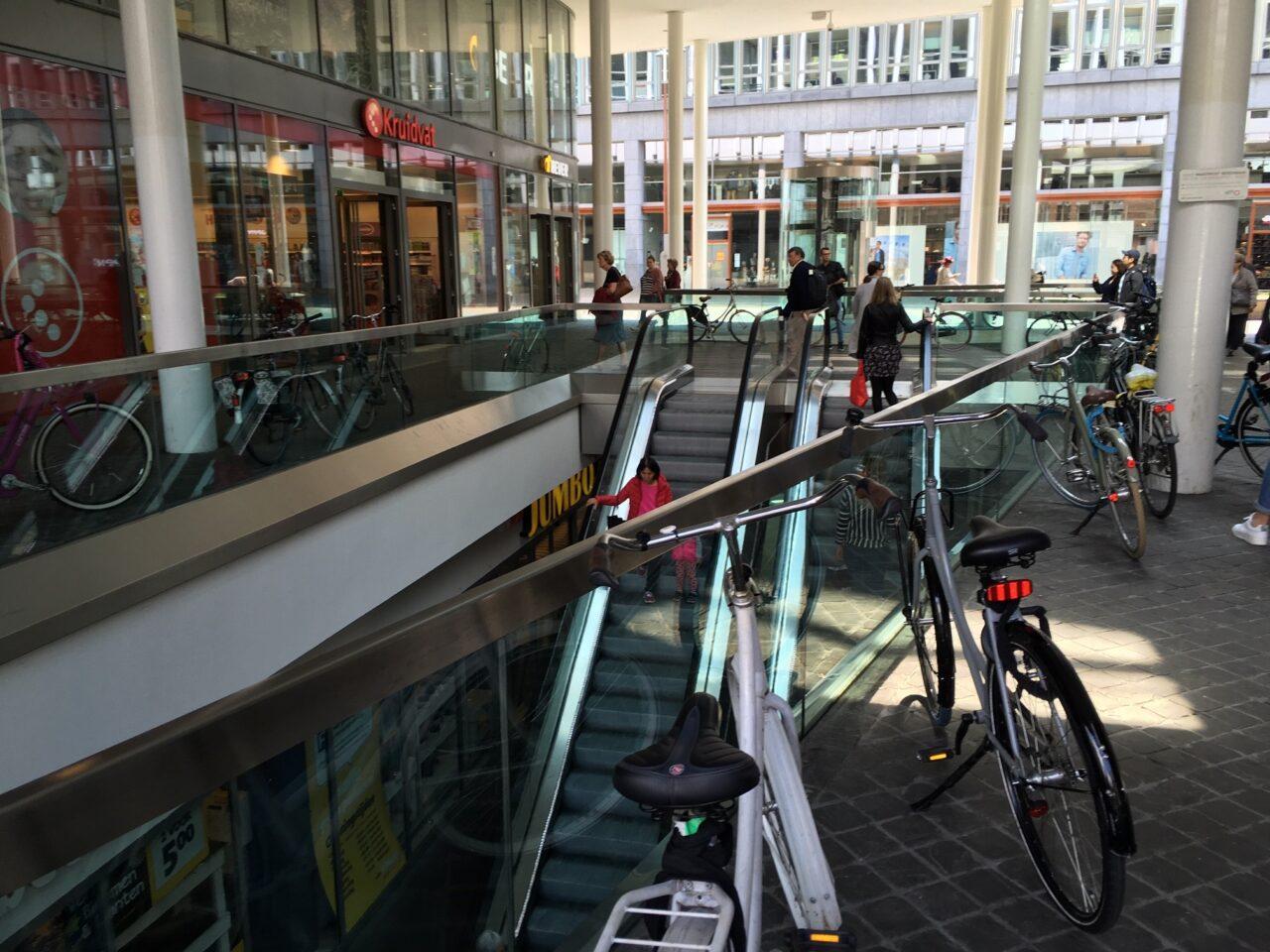 Verboden fietsen te parkeren