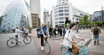fietsers in eindhoven