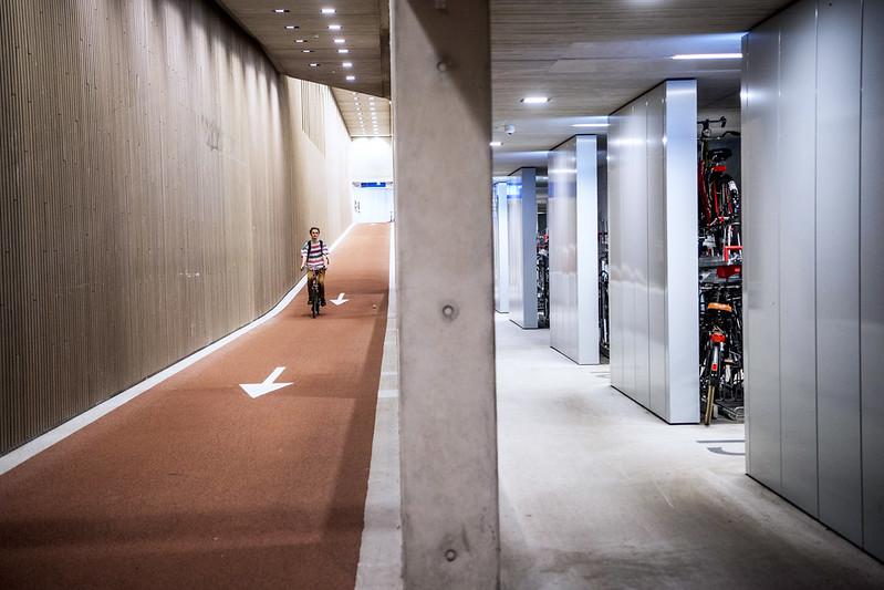 stationspleinstalling Utrecht, maximaal 15 km per uur