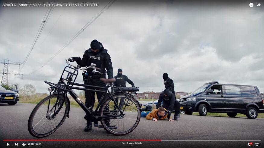 GPS-tracker fiets Sparta