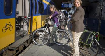 trein en fiets