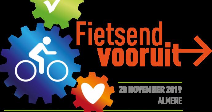 logo Symposium Fietsend Vooruit