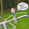 Stuurkabouter: 'Bedankt lieve fietsers!
