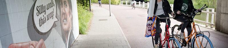 groene fietsroutes eindhoven fietstunnel john cleese