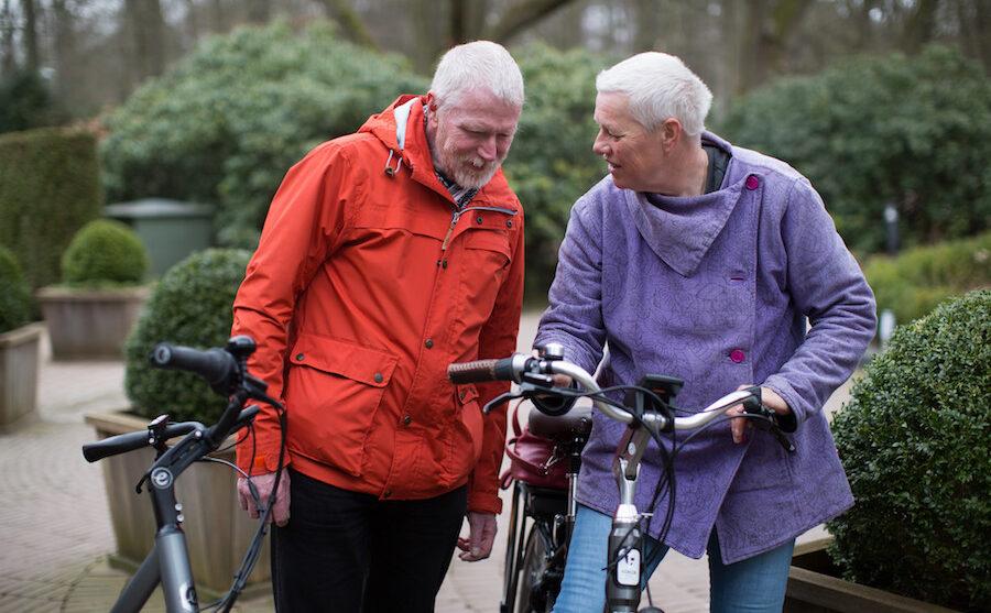 e-biketesters bespreken een fiets