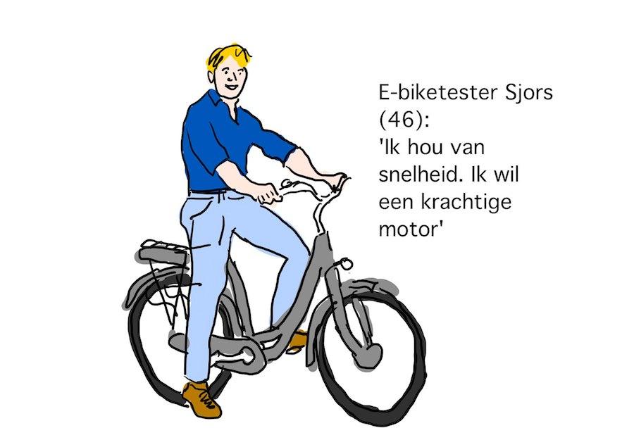 e-biketester Sjors