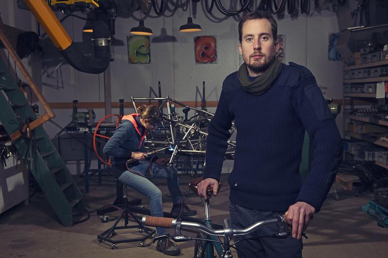 fietsframe lassen