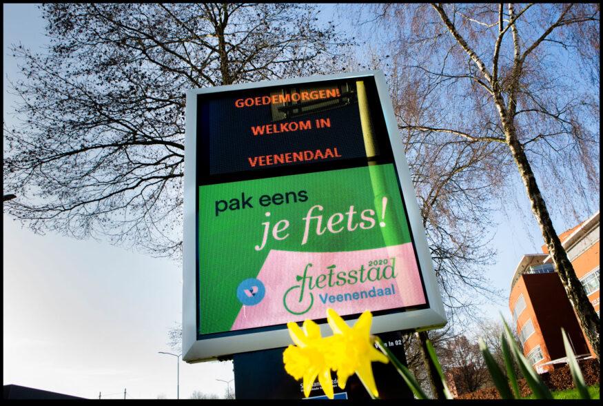 Nederland, Veenendaal, 21-2-2020. Foto Maarten Hartrman. Fietsstad 2020