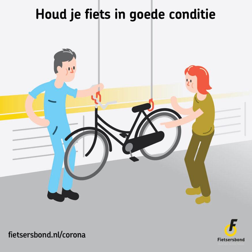 Houd je fiets in goede conditie