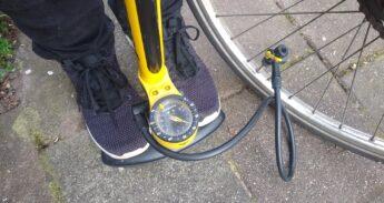 fietsband oppompen