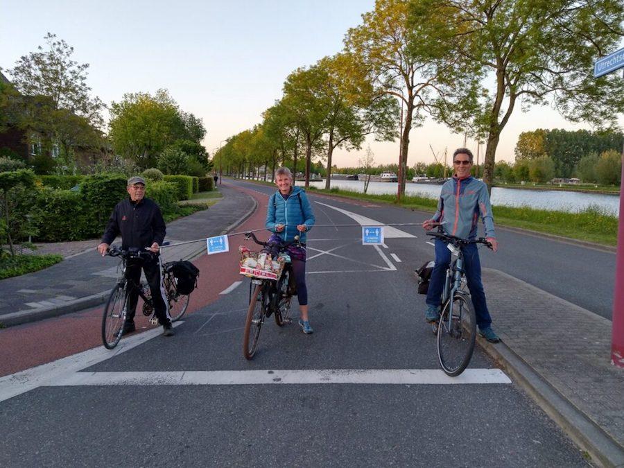 Fietsersbond Nieuwegein checkt de straten en fietspaden