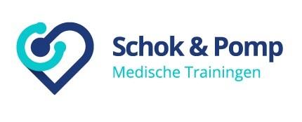 Schok en pomp logo